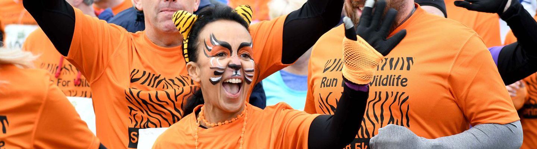 The Run for Wildlife Autumn 5k 2019 banner image