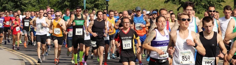 The Lincoln City Half Marathon banner image