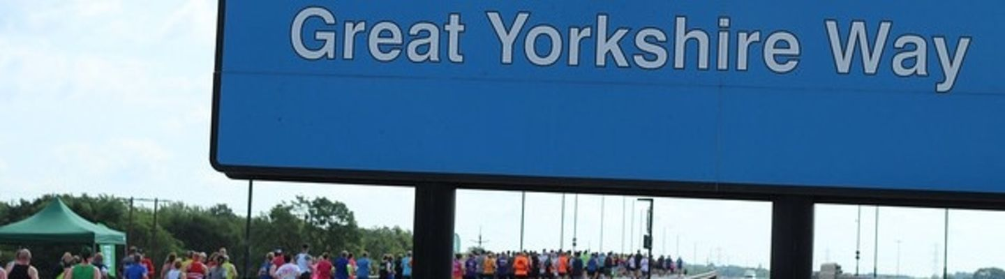 Charity entries: The Doncaster Half Marathon banner image