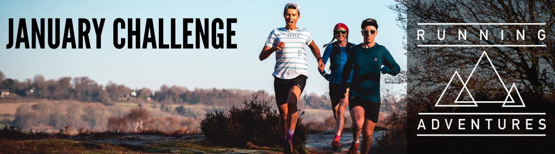 Running Adventures January Challenge 2021