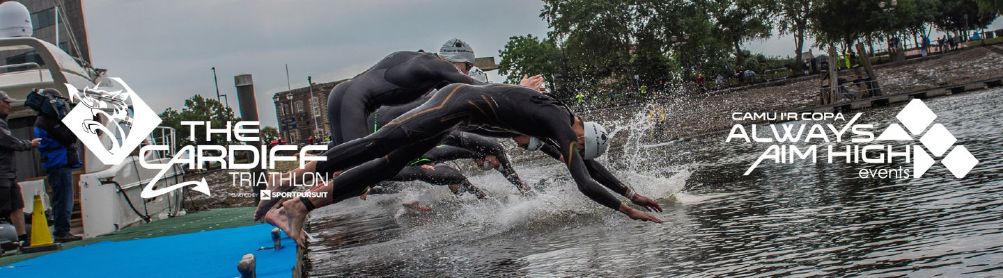 Cardiff Bay Try-A-Tri Swim 2022 banner image
