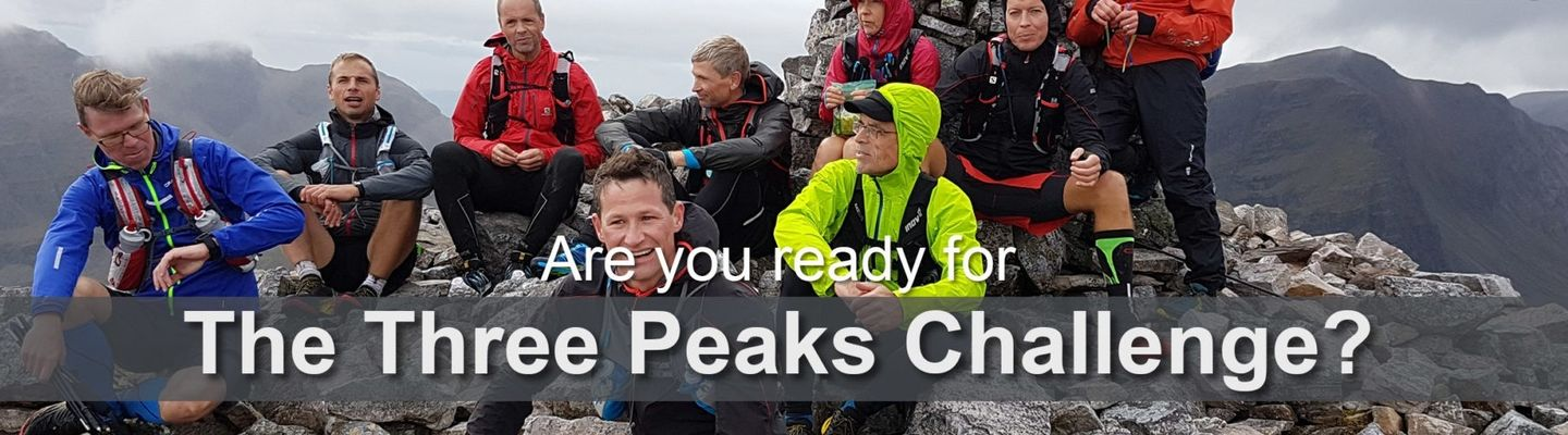 Three Peaks Challenge in 3 days (for runners or walkers)