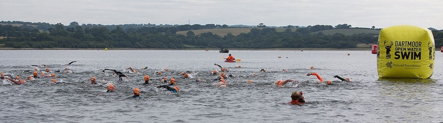 Dartmoor and Exmoor Open Water Swims in association with The Pickwell Foundation banner image
