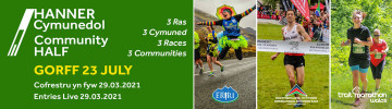 Hanner Cymunedol - Community Half
