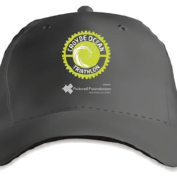 Croyde Ocean Triathlon Cap with embroidered logo