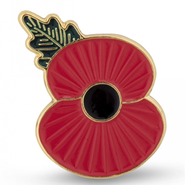 Brigg 10k 2020 Poppy Pin Badge