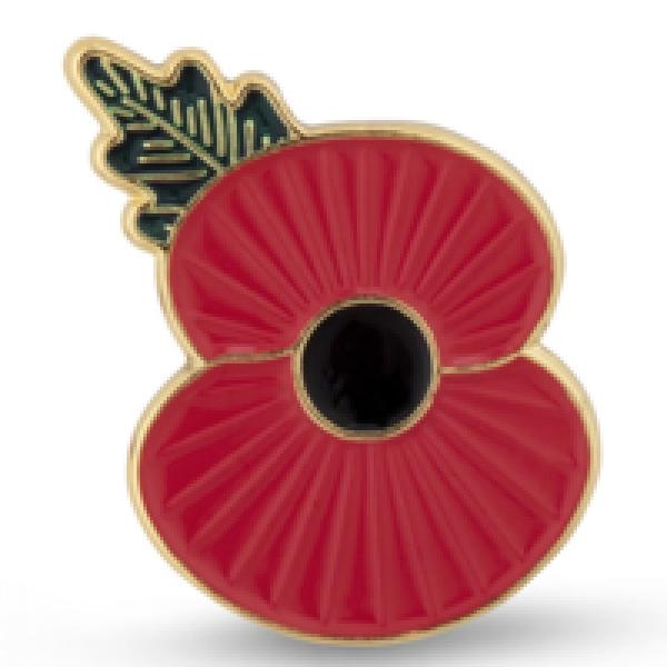 Brigg 10K 2021 Poppy Pin Badge