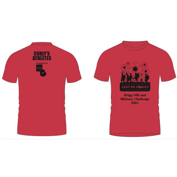2021 Brigg Poppy 10k T-shirt