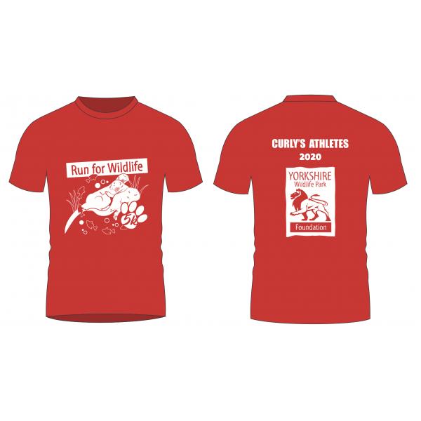 Run for Wildlife 'VIRTUAL' T-shirt 2020