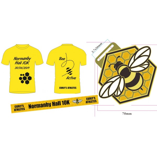 Normanby 10k event t-shirt