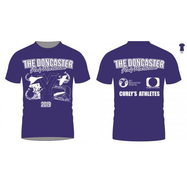 Doncaster 1/2 Marathon event t-shirt 2022