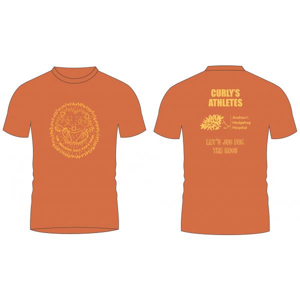 2020 Hedgehog Half Marathon t-shirt