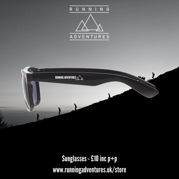 Loading... SUNGLASSES WITH RUNNING ADVENTURES MOUNTAINS - BLACK