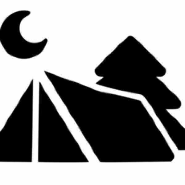 Camping pitch - Large tent (maximum 6 people per pitch)