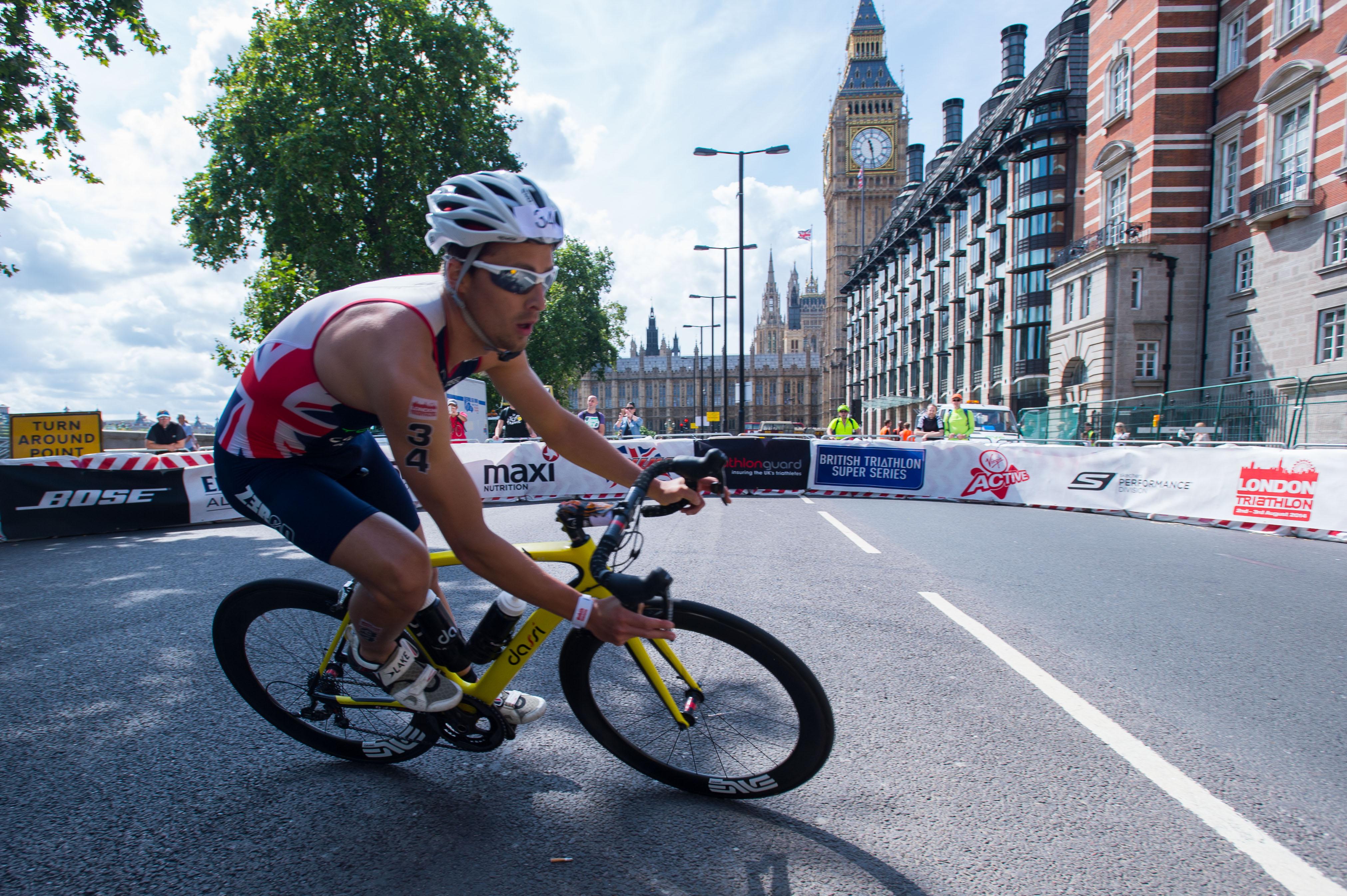 AJ Bell London Triathlon